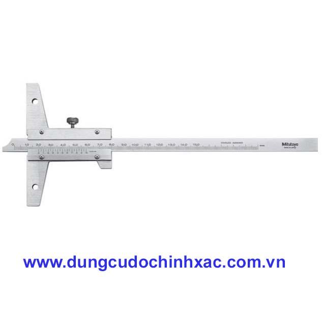 Hình ảnh của Thước đo sâu cơ khí 527-202 (0-200mm/0.05mm)