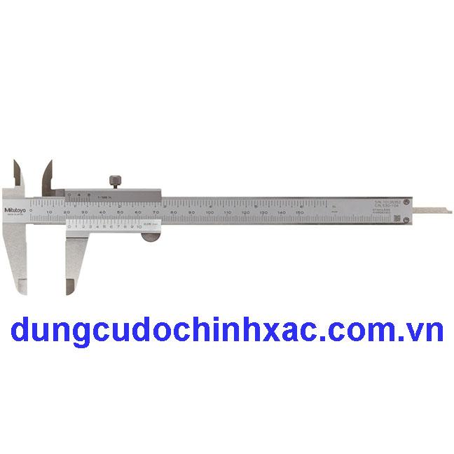 Hình ảnh của Thước cặp cơ khí 530-104 (0-150mm/0.05mm)