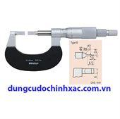 Panme đo rãnh  ngoài 122-111 (0-25mm/0.01mm)