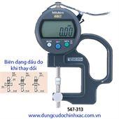 Thước đo độ dày điện tử 547-313 (0-10mm/0.01mm)