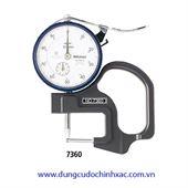 Thước đo độ dày ống 7360 (0-10mm/0.01mm)